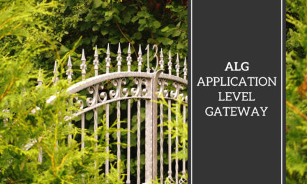 ALG – Application Level Gateway