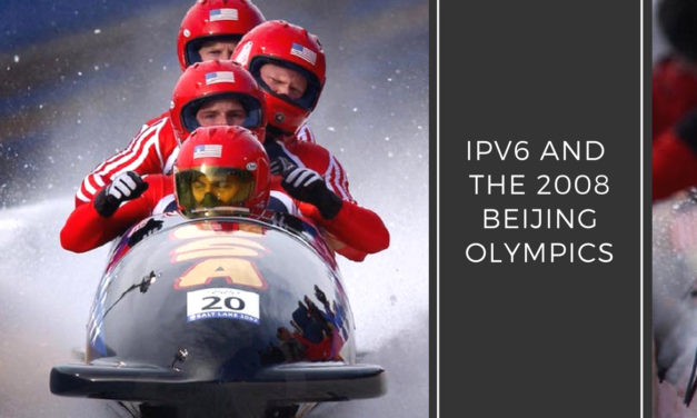 IPv6 and the 2008 Beijing Olympics